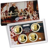 2008 4-Coin Presidential Dollar Proof Set PD3