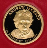 2008 Proof Andrew Jackson Proof Dollar CP2193