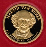 2008 Proof Martin Van Buren Proof Dollar CP2196