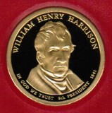 2009 Proof William Henry Harrison Proof Dollar CP2199