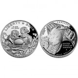 2008 Bald Eagle Proof Clad Half-Dollar Coin