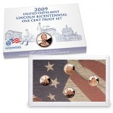 2009 Lincoln Bicentennial One Cent Proof Set (LN2)