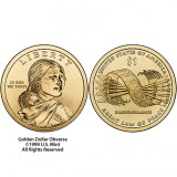2010 Native American $1 Coin 25-Coin Roll, Denver N02