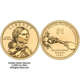 2011 Native American $1 Coin 25-Coin Roll, Denver N12