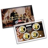 2009 4-Coin Presidential Dollar Proof Set PD6