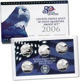 2006 US Mint 50 State Quarters Proof Set Q06