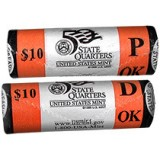 2008 Oklahoma Two-Roll Set R58 Unopened US Mint Box