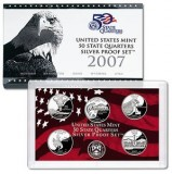 2007 US Mint 50 State Quarters Silver Proof Set V71
