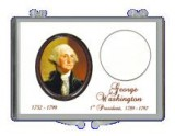 8 Pack of George Washington Presidential Single Coin Holder