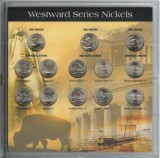 Westward Journey 2004, 2005,2006 Nickels 13 Coin Set