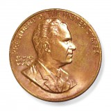 "1 5/16"" Richard Nixon Bronze Medal"