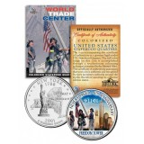 World Trade Center 9/11 6th Anniversary New York Statehood Quarter Colorized