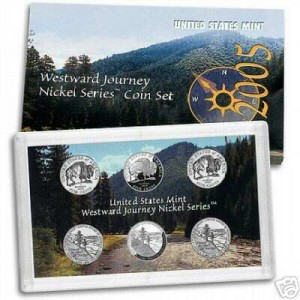2005 Westward Journey Nickel Set (5W1)