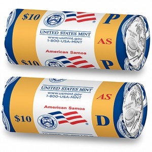2009 American Somoa Two-Roll Set Unopened US Mint box R66